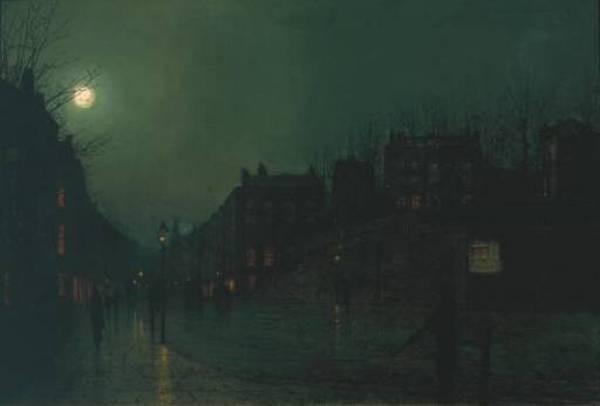 View of Heath Street by Night TCS